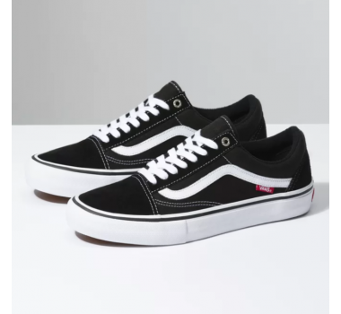 Tênis Vans Old Skool Pro Black/White