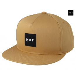 Essentials Box Honey Mustard Snapback Huf
